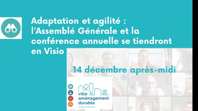 """Association VAD > Assemblée Générale & conférence de fin d'année """"Impulsons le changement"""""""