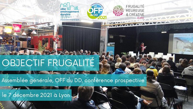 VILLE & AMÉNAGEMENT DURABLE > Assemblée générale, OFF du développement durable et conférence prospective